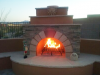 Customized Outdoor Fireplace
